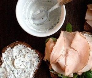 Broodje kalkoenfilet met waterkers