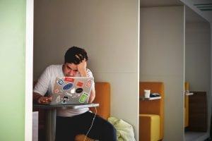 stress op de werkplek