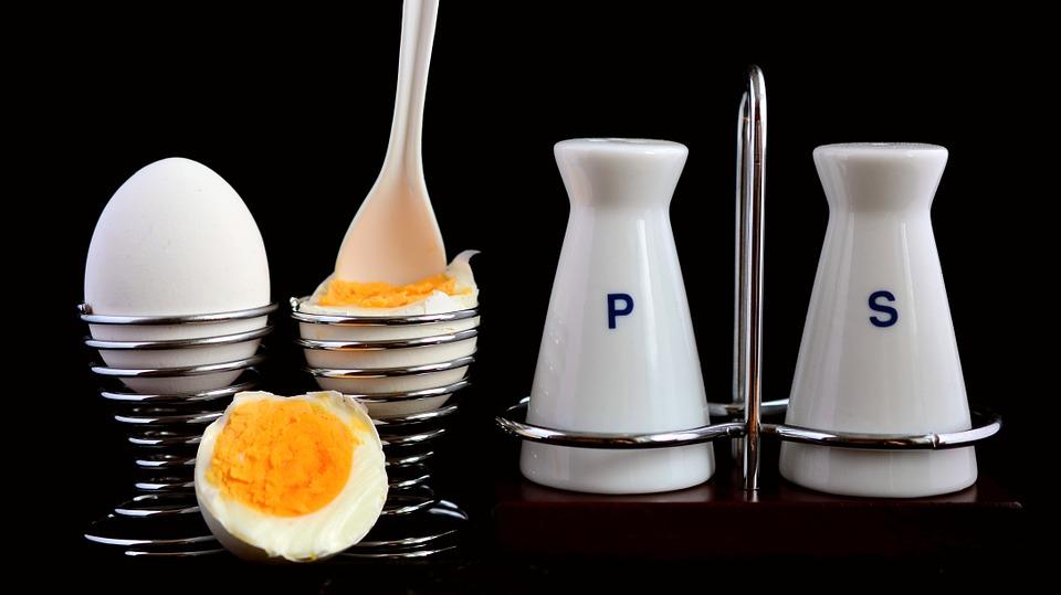 snack gekookte eieren