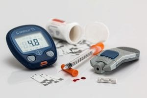 Wat is diabetes mellitus als chronische ziekte